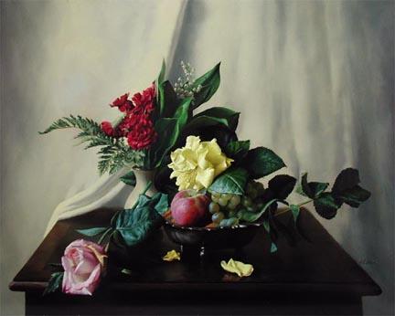 Passing Beauty by  Alexei Antonov - Masterpiece Online