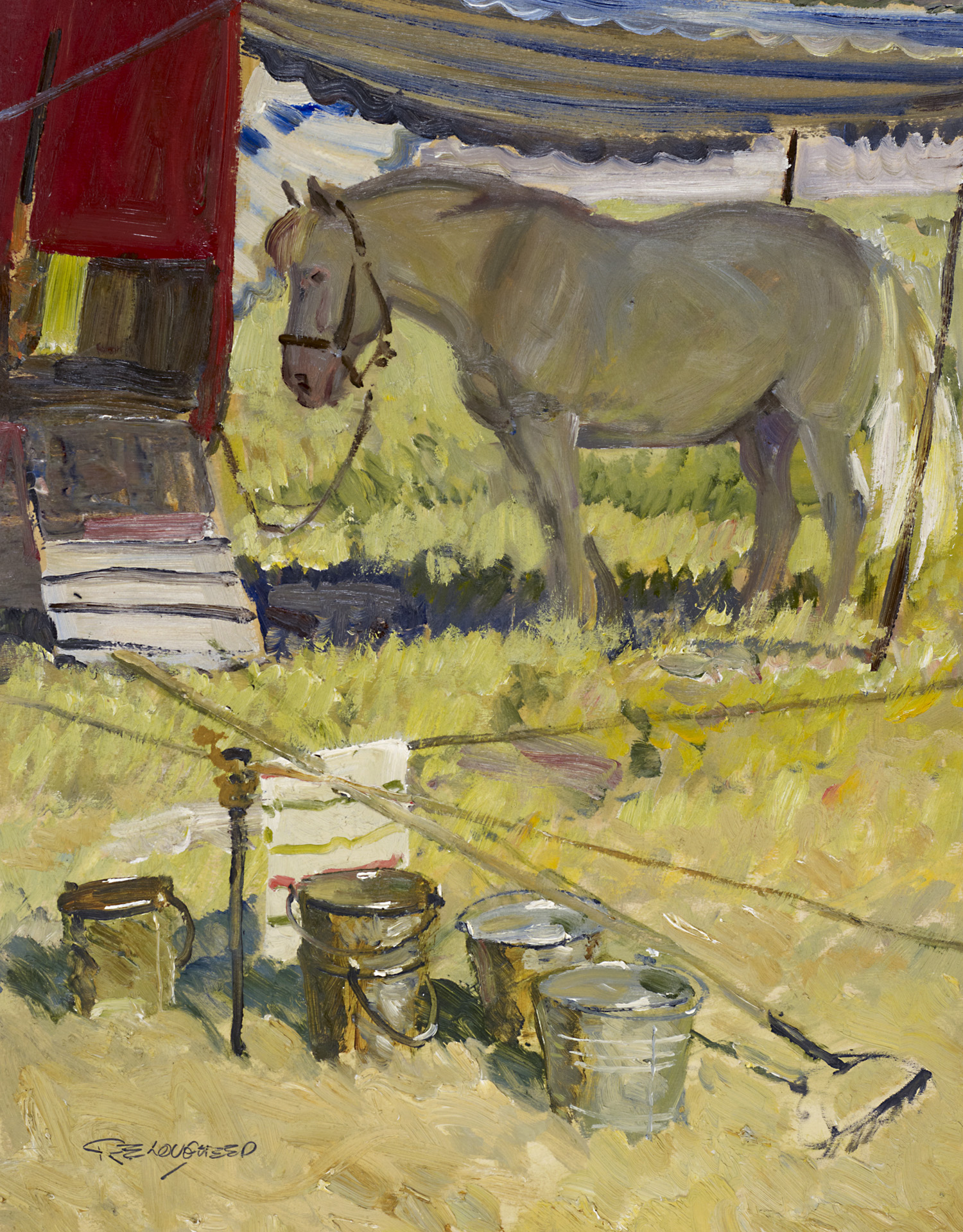 Under the Tent by  Robert Lougheed - Masterpiece Online