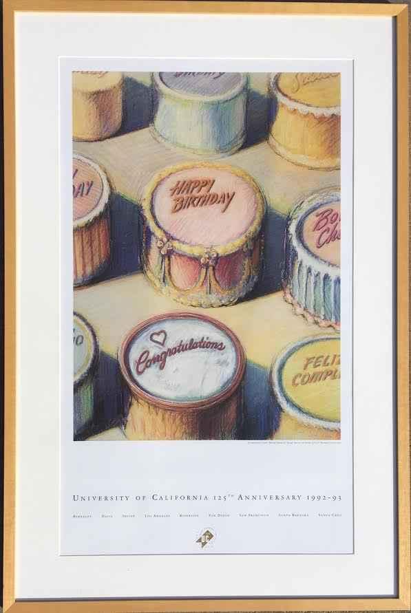 Celebration Cakes    ...  by  Wayne Thiebaud