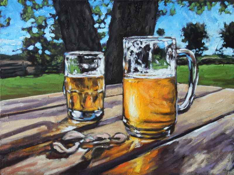 Thirsty Work by  Rob Niezen - Masterpiece Online