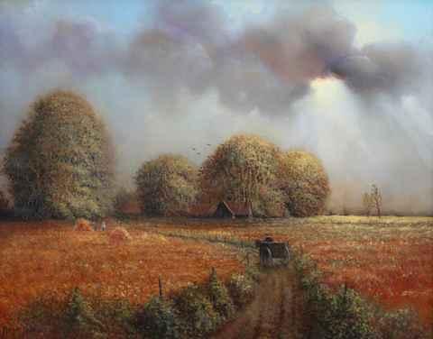 Harvest Time by  Roger  Budney - Masterpiece Online