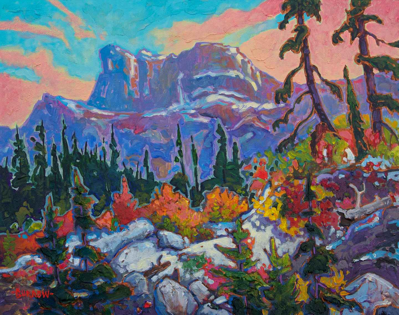 Northern Cliffs by Mr John Burrow - Masterpiece Online