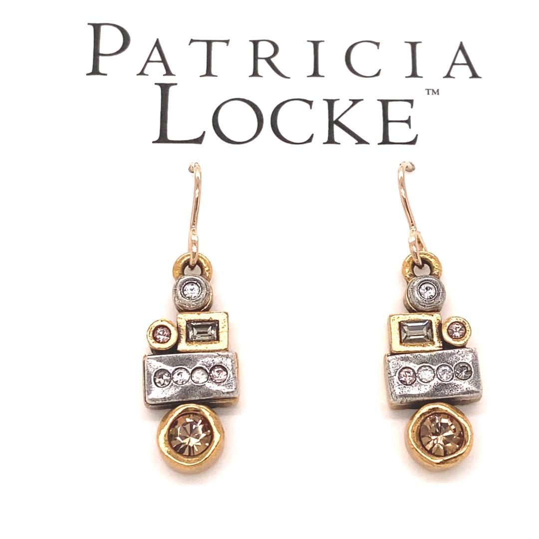 Girlfriends Earrings in Gold, Champagne