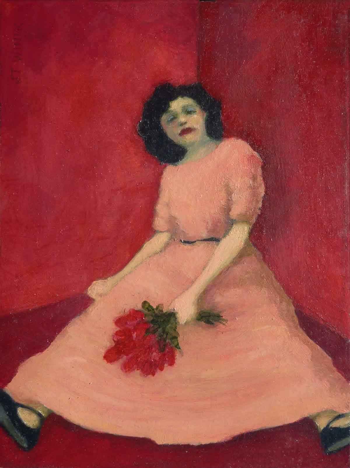 Girl in a Corner, Red...  by  J.T. Winik