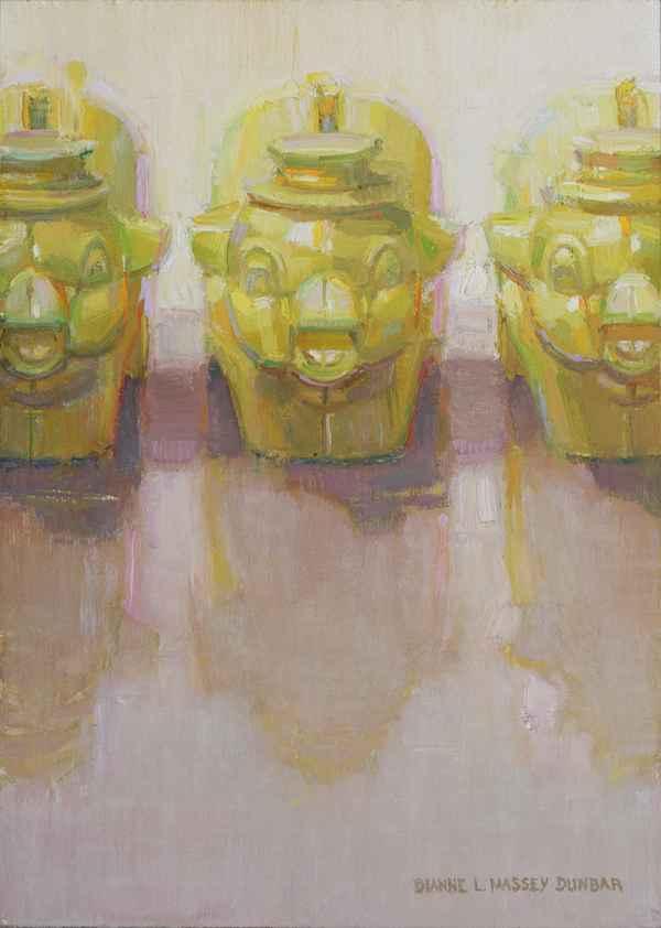 Three Little Piggies by  Dianne Massey Dunbar - Masterpiece Online