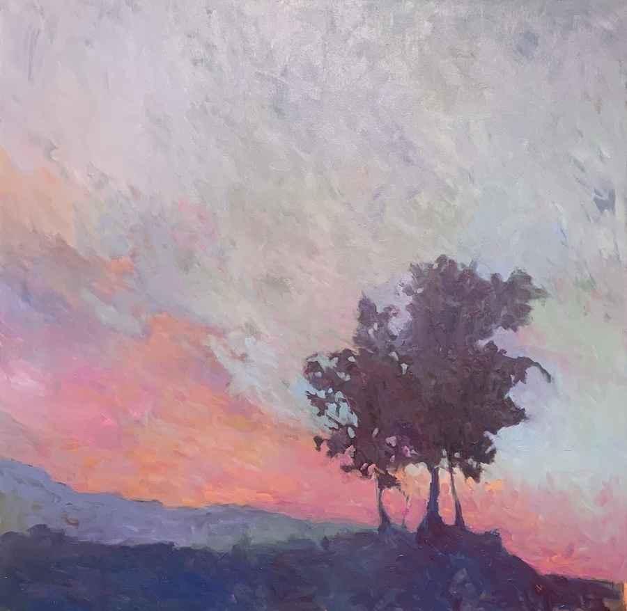 Sunset on the Vineyard by  Julie Friedman - Masterpiece Online