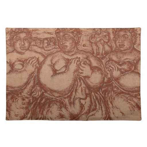 Placemat, Hawaiian Th... by  Madge Tennent (1889-1972) - Masterpiece Online