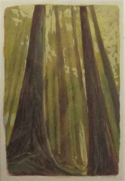 Untitled ( Forest lig... by  Michael Brophy - Masterpiece Online