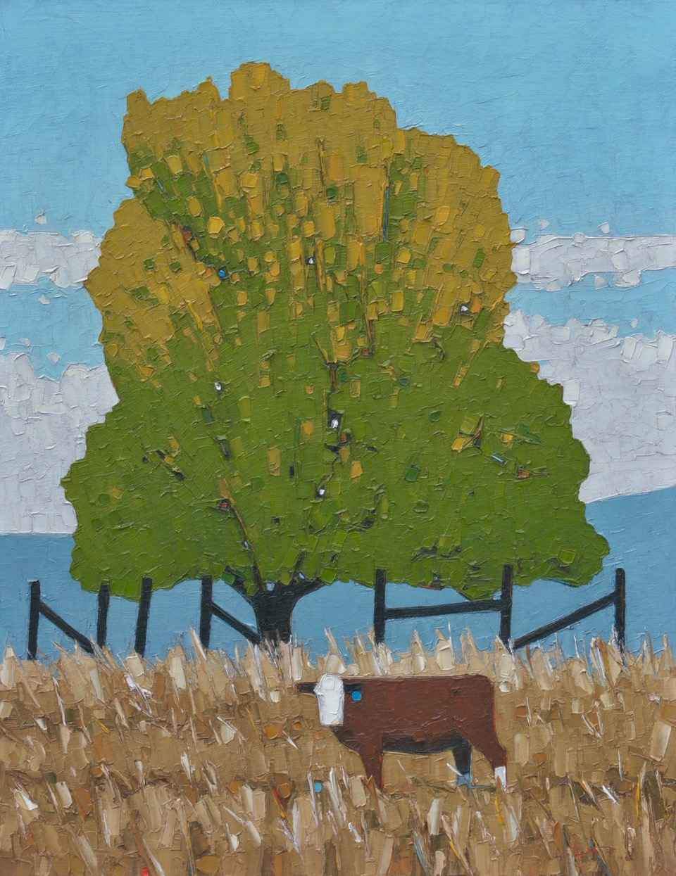 How Now Brown Cow by  Jeffery Pugh - Masterpiece Online