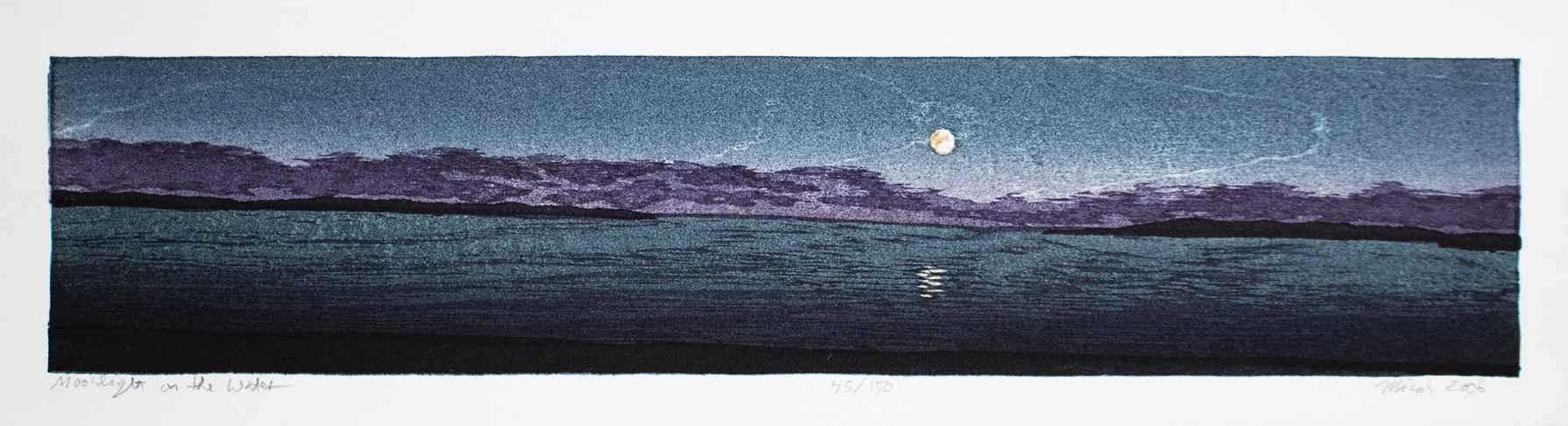 Moonlight on the Water by  Micah Schwaberow - Masterpiece Online