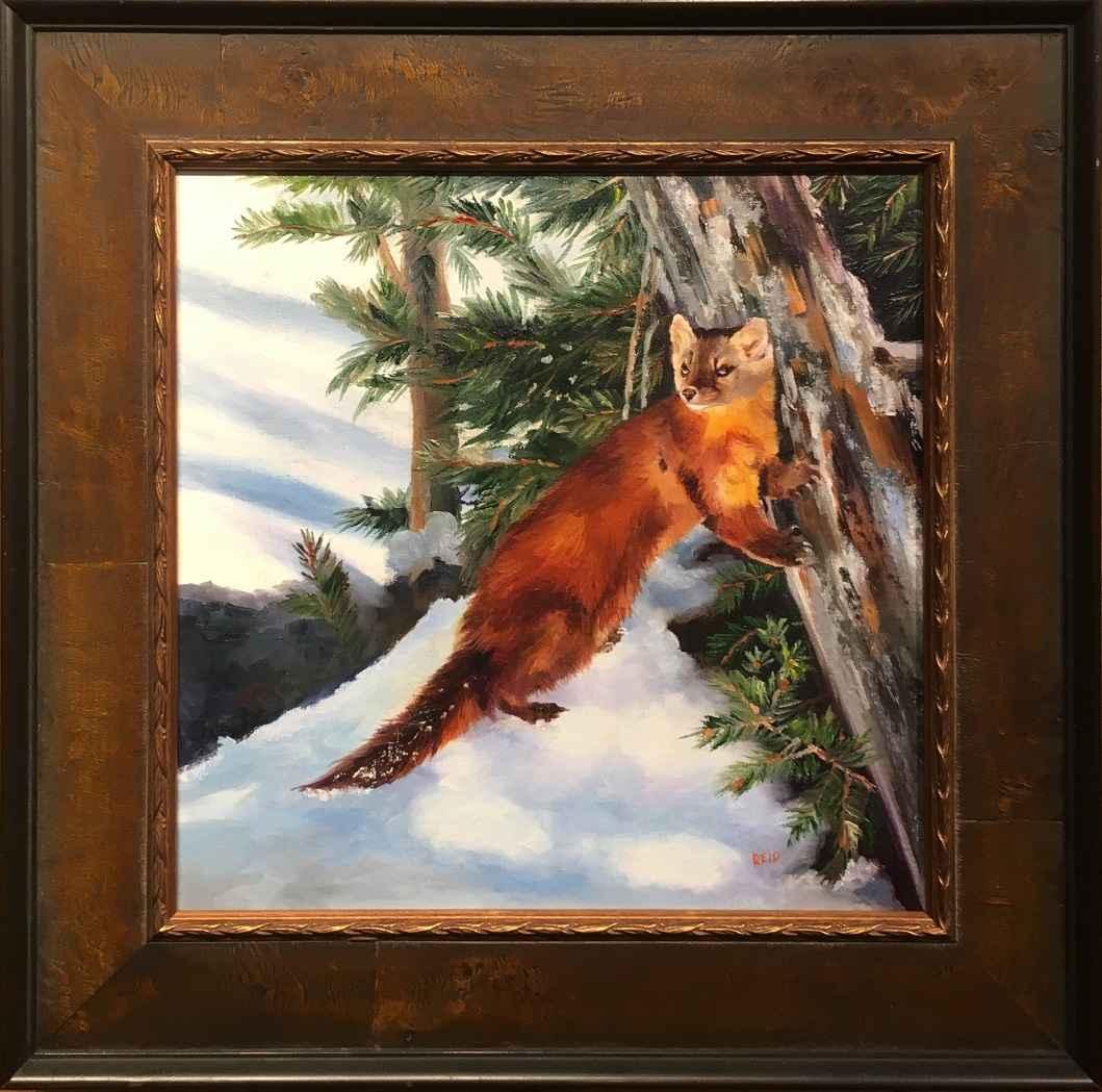 Pine Martin by  Sonia Reid - Masterpiece Online
