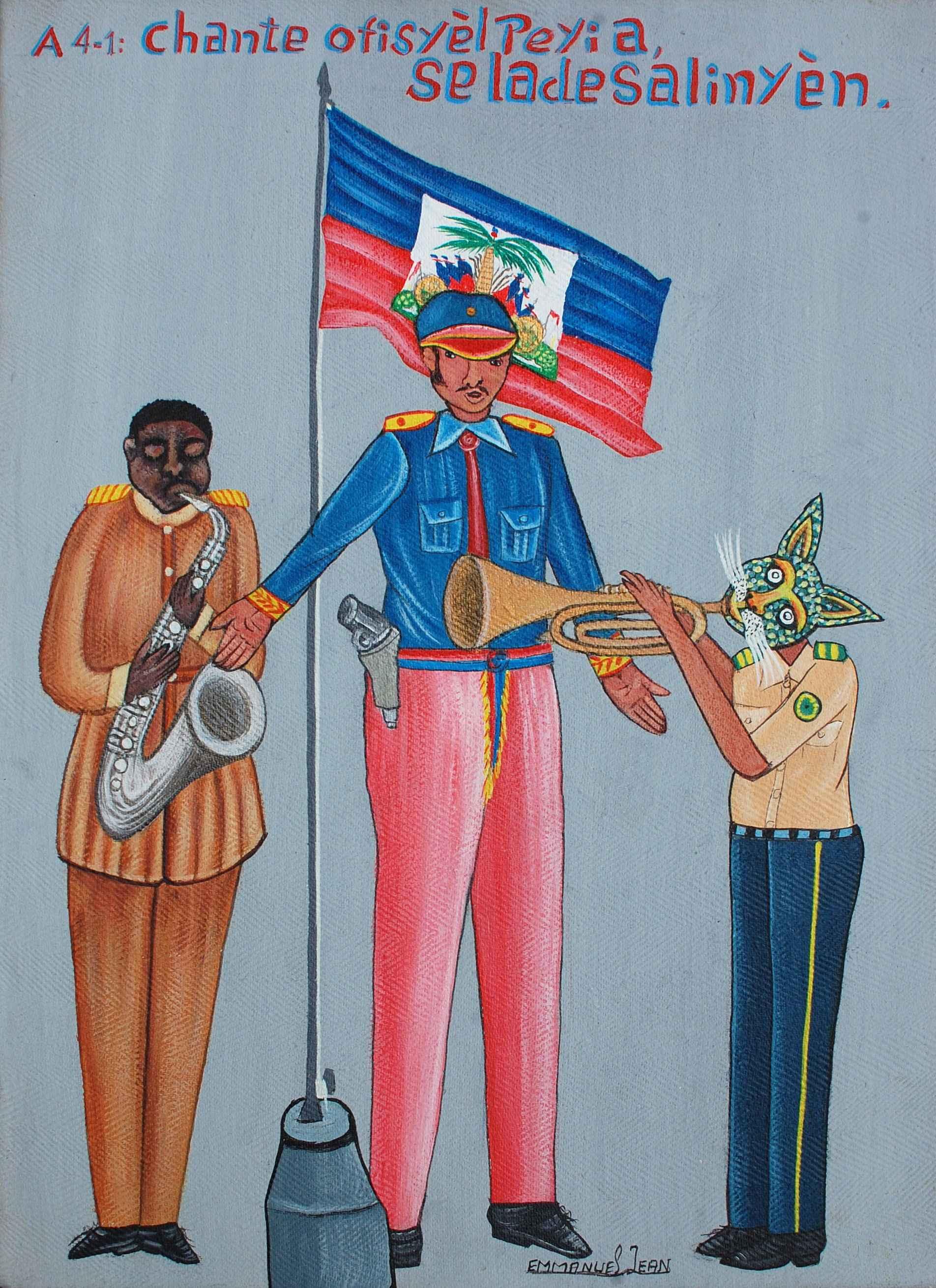 National Anthem by  Jean EMMANUEL - Masterpiece Online