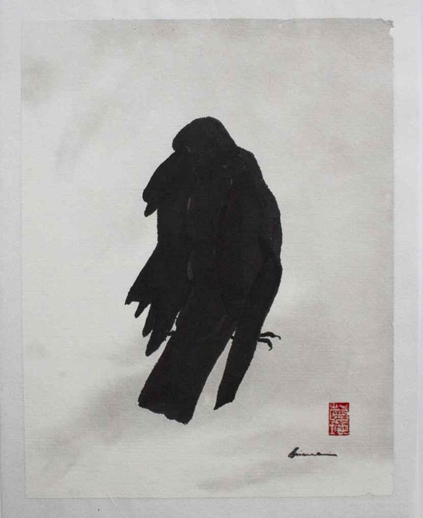 Crow by  Louise Kikuchi - Masterpiece Online