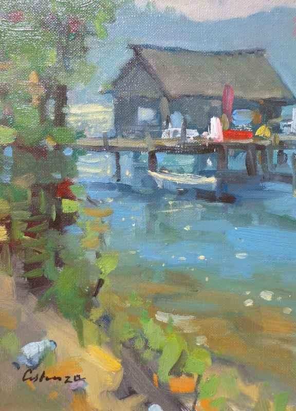 Tahoe Boat House by Mr. Gene Costanza - Masterpiece Online