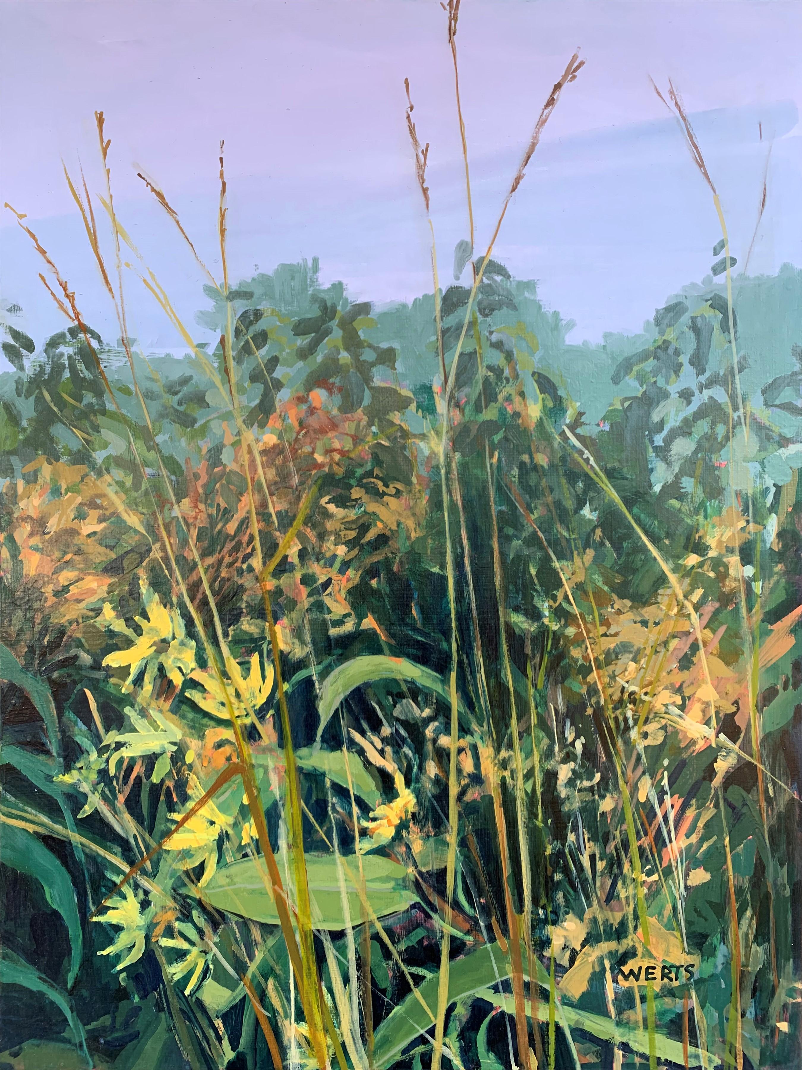 Misty Prairie Morning... by  Diana Werts - Masterpiece Online