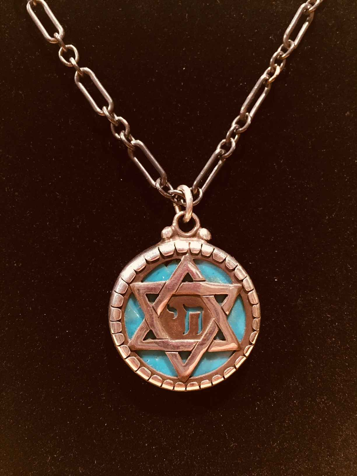 Star of David (Turquo... by  Heyoka Merrifield - Masterpiece Online