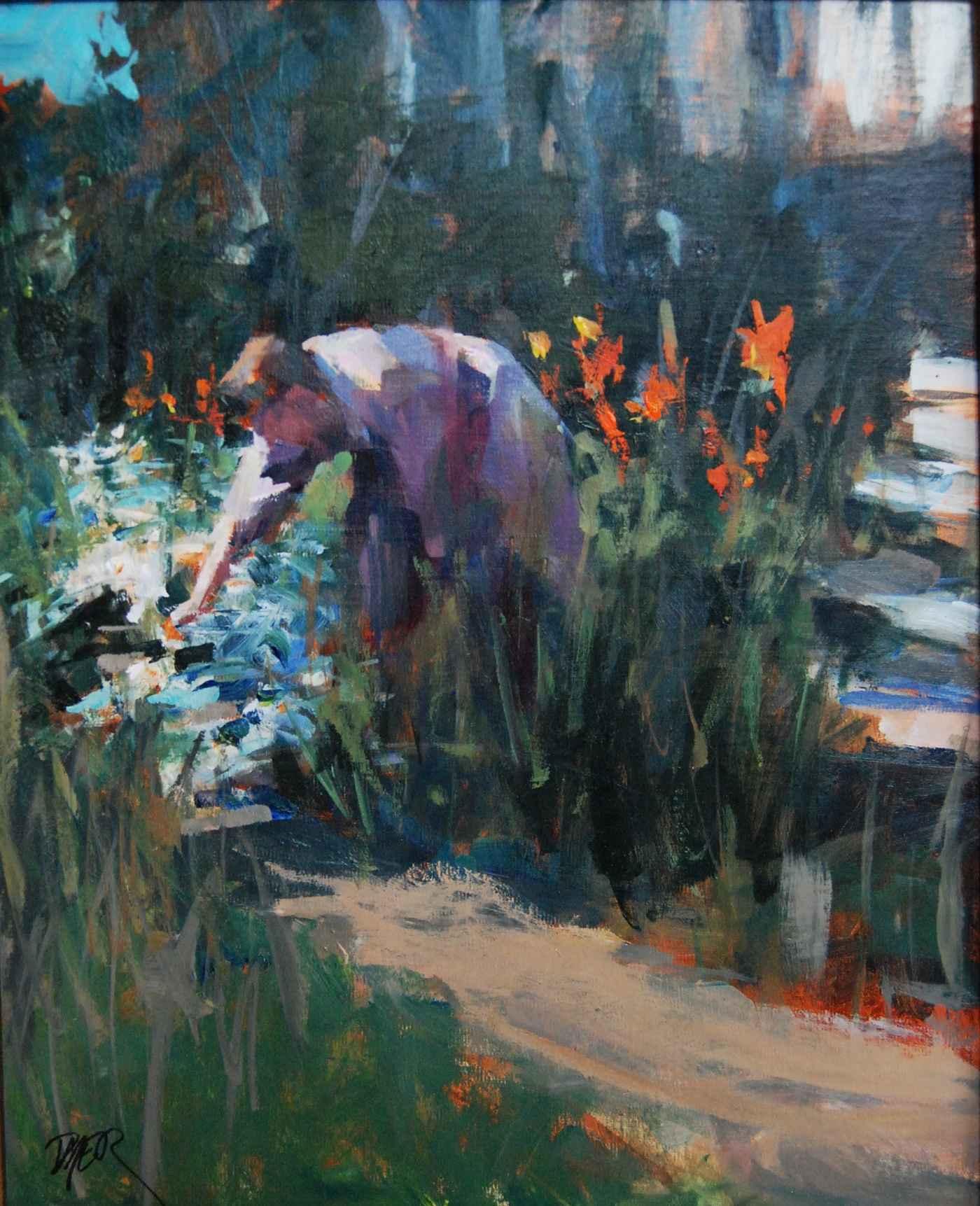 A Garden at La Bonne ... by  Margaret Dyer - Masterpiece Online