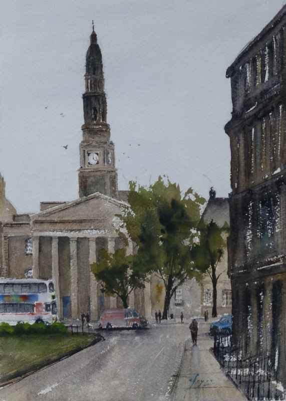 Bellevue, Edinburgh, ... by  Colin Joyce - Masterpiece Online