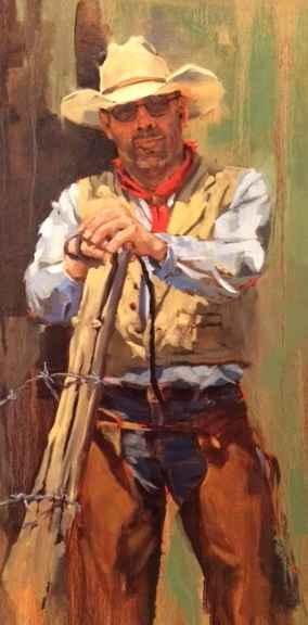 The Doorman by  JoAnne Meeker - Masterpiece Online