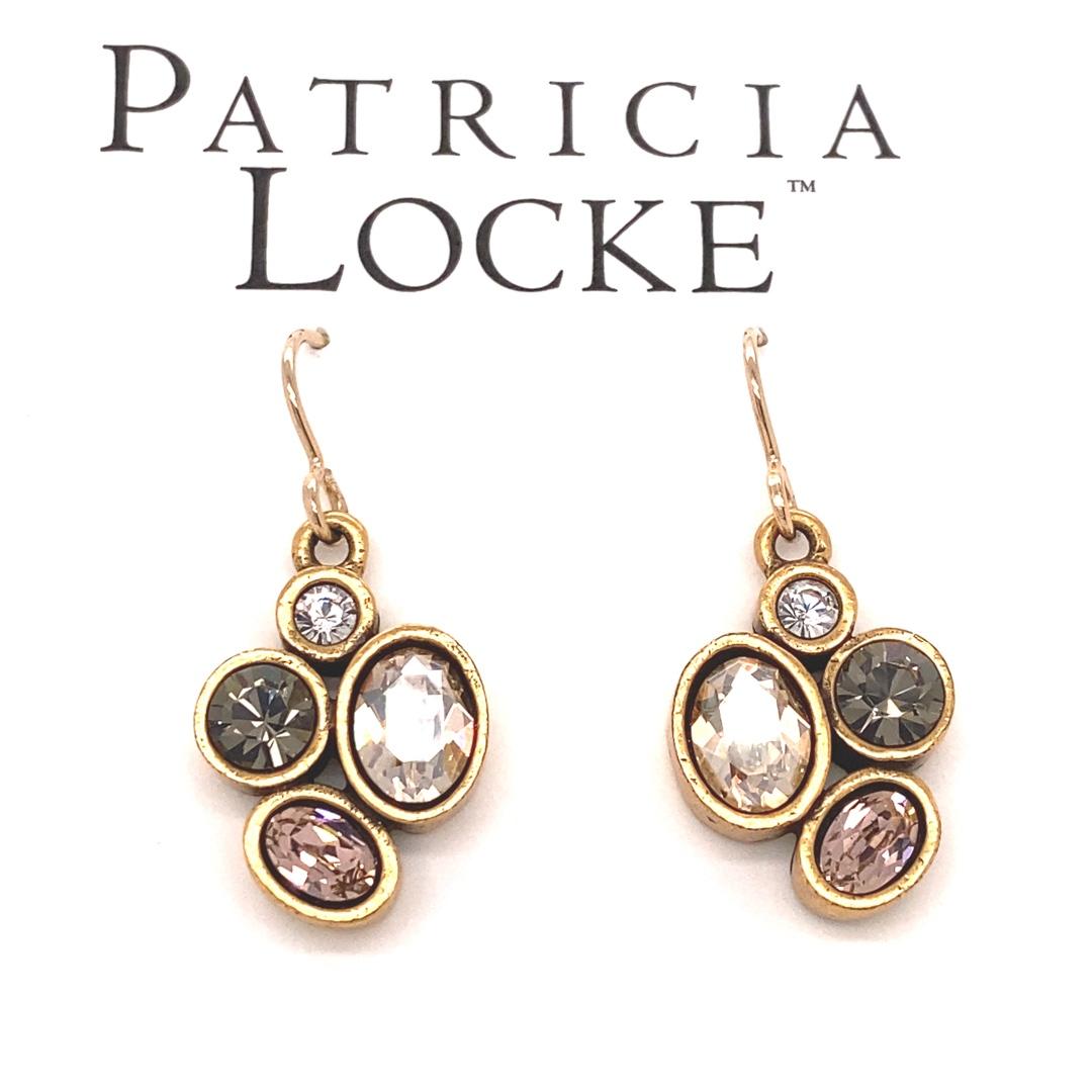 Mercy Earrings in Gold, Champagne