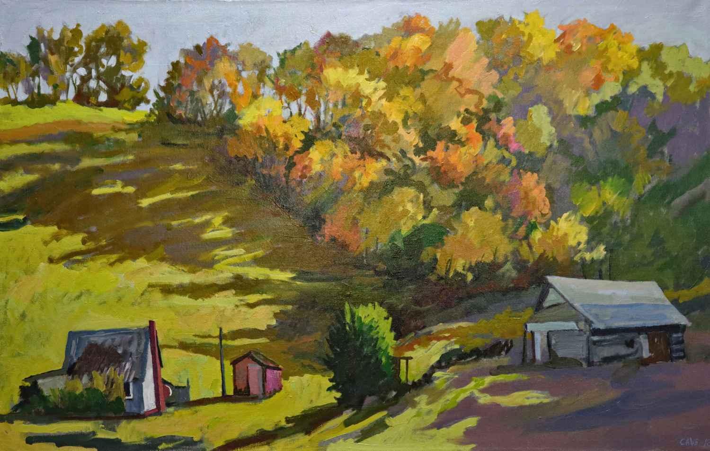 Autumn Farm #2 by  Joseph Cave - Masterpiece Online