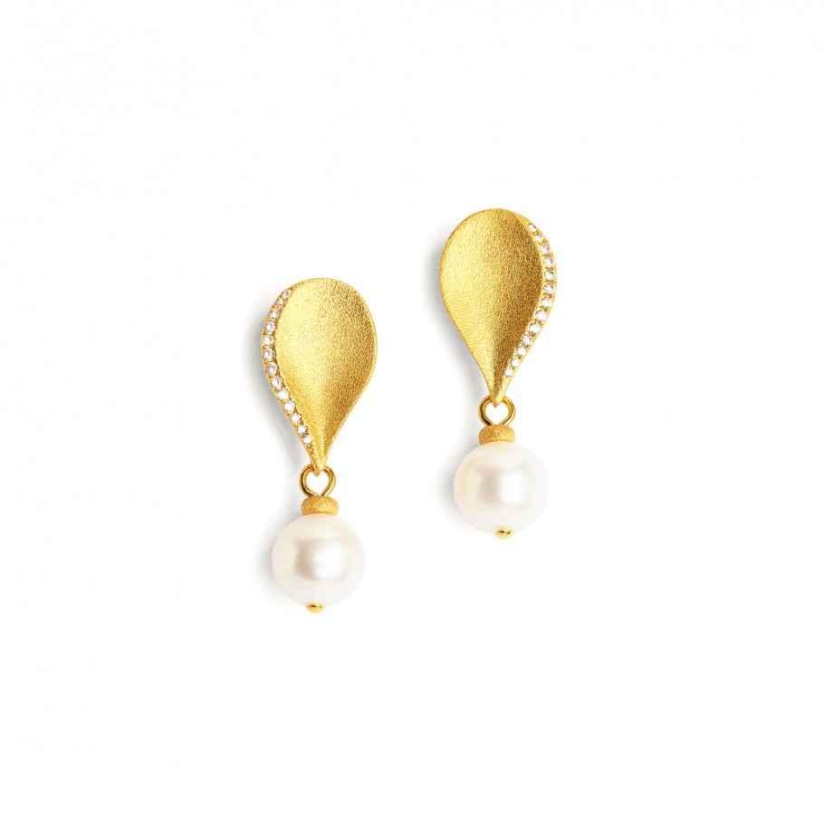 Aquinos Pearl Earrings by  Bernd Wolf - Masterpiece Online