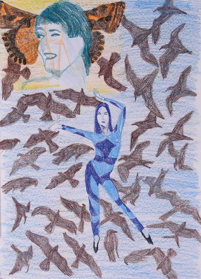 (Untitled) Blue Dancer by  Orna Bromberg - Masterpiece Online