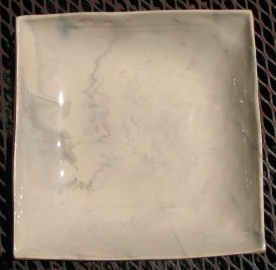 9 Square Server by  Terrafirma Ceramics - Masterpiece Online