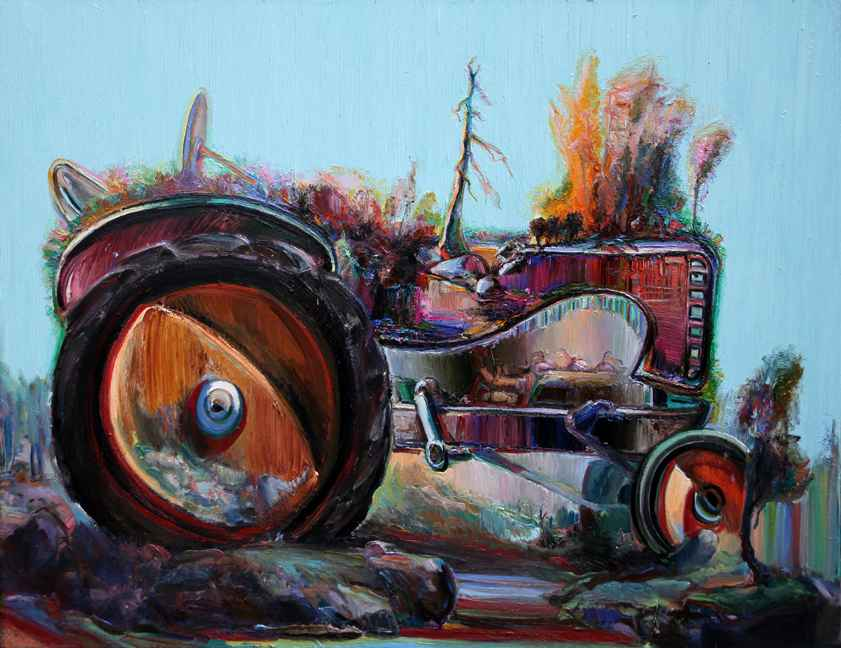 Tractor Landscape