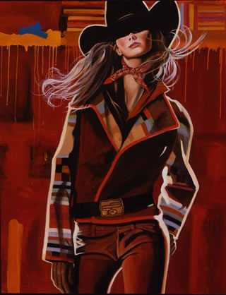 Seeing Red by  David DeVary - Masterpiece Online