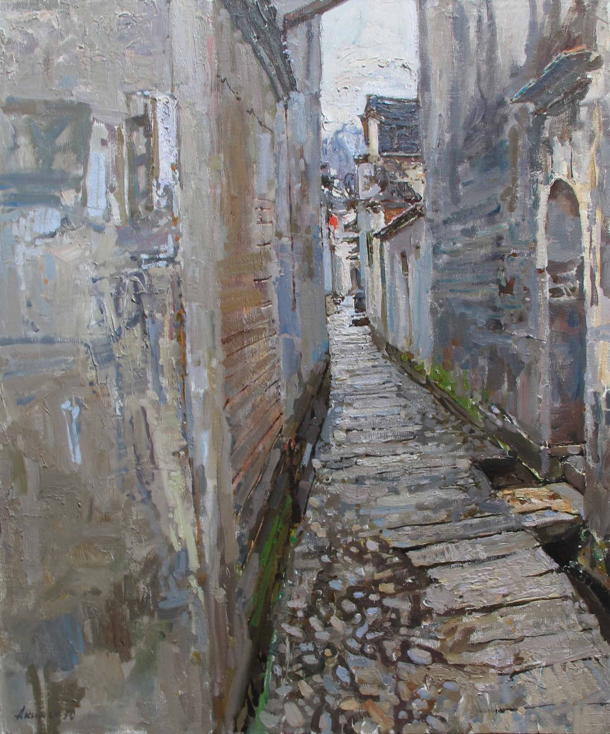 An Hu Ye by  Daud Akhriev - Masterpiece Online