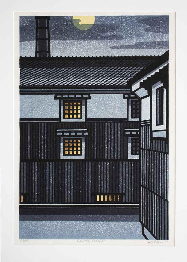 Evening Fushimi by  Clifton Karhu - Masterpiece Online