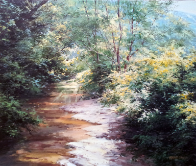 View from the Swing B... by  Michael Wheeler - Masterpiece Online