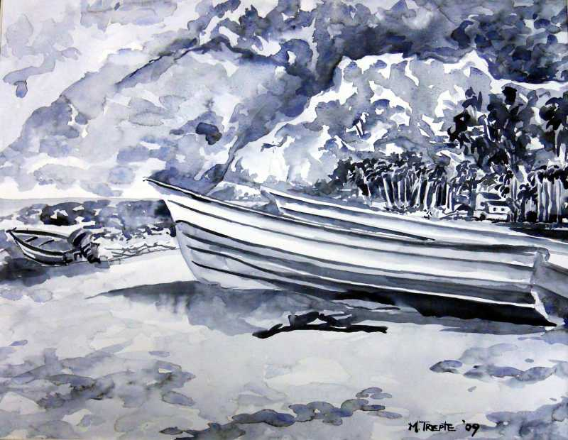 Beached on Fisherman'... by Mrs. Marsha Trepte - Masterpiece Online