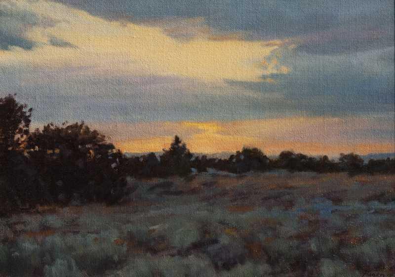 Blue Sunset by  Peter Hagen - Masterpiece Online