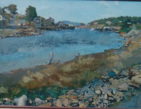 Untitled Maine Landsc... by  Daud Akhriev - Masterpiece Online