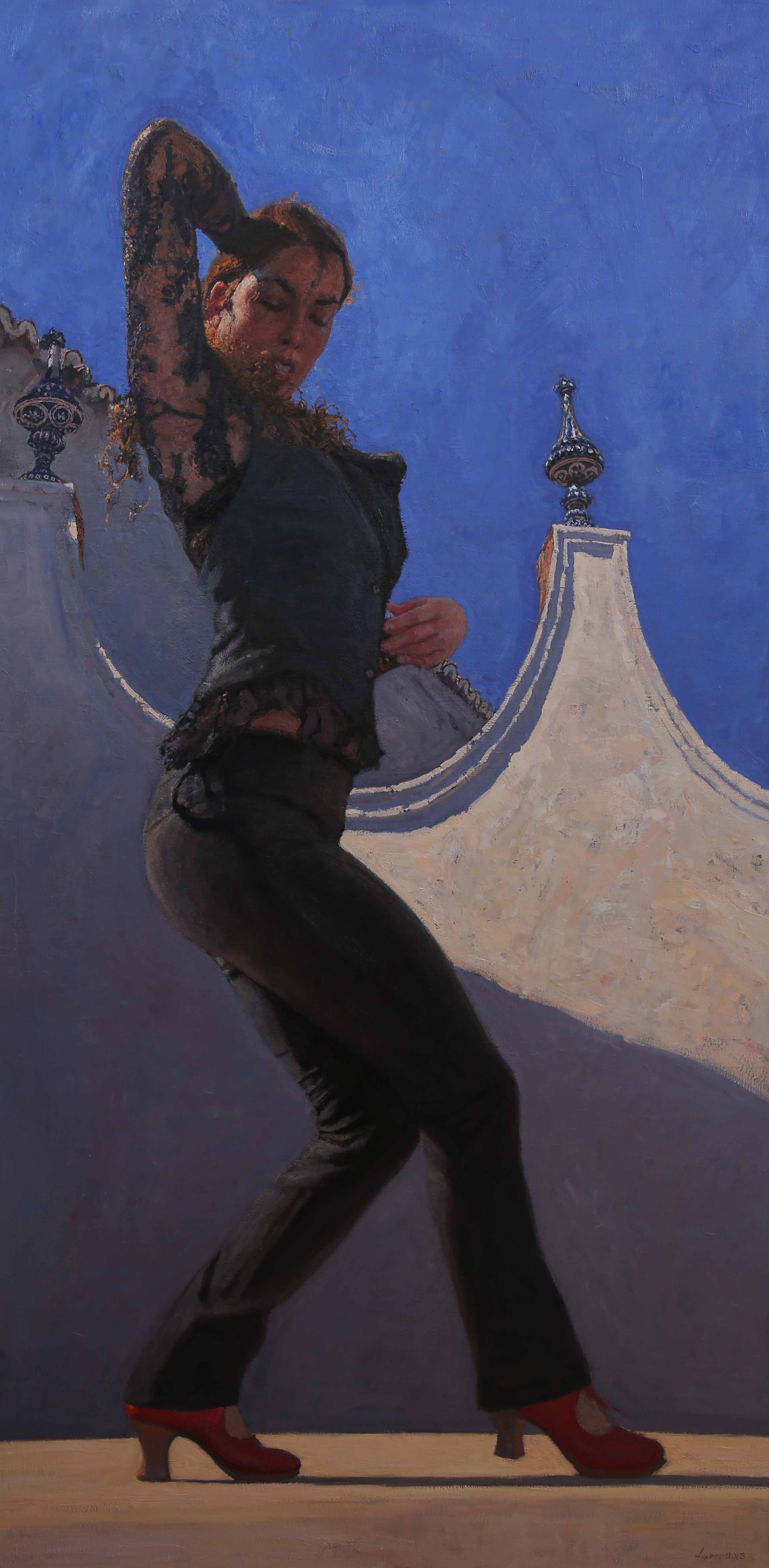 The Red Shoes by  Daud Akhriev - Masterpiece Online