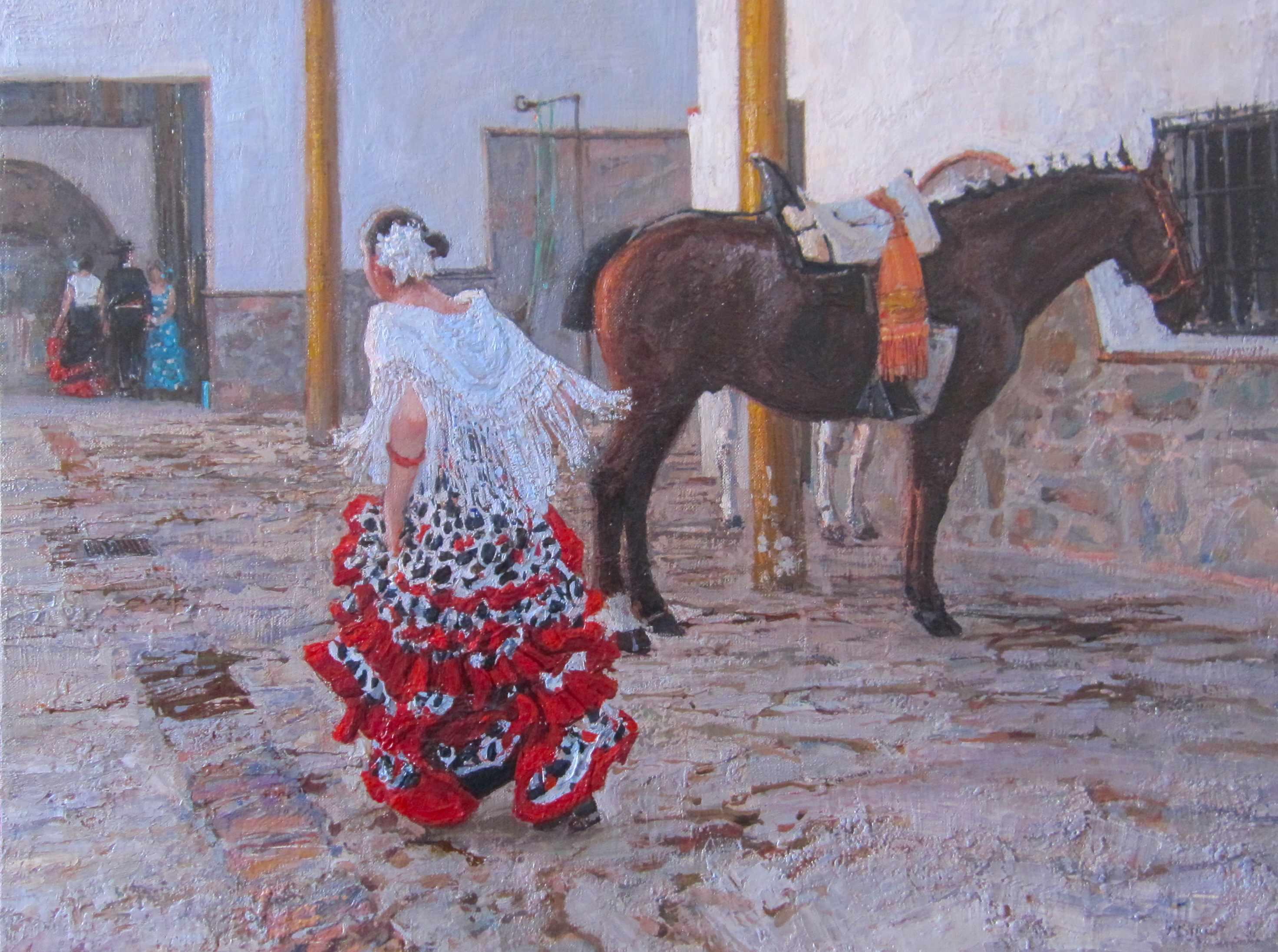 Catching Up, II by  Daud Akhriev - Masterpiece Online
