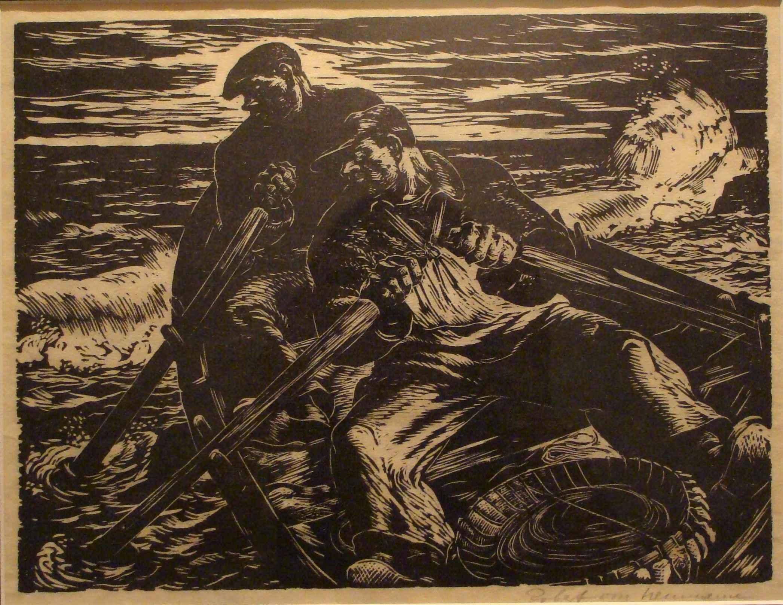 Two Men Rowing by Mr. Robert von Neumann - Masterpiece Online