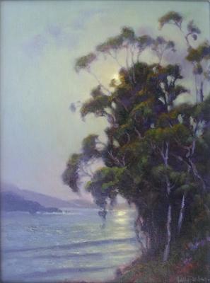 Eucalyptus Moon by  Sally  Jordan - Masterpiece Online