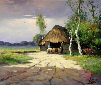 Early Evening by  Nanne  Balyon  - Masterpiece Online