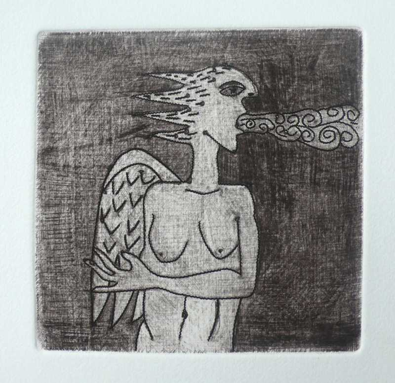 Fire Angel by  Pierre Pascal PASKO - Masterpiece Online