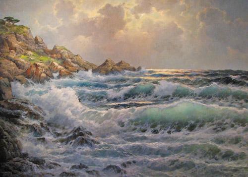 Twilight Gleaming by  A. Dzigurski Sr.  - Masterpiece Online