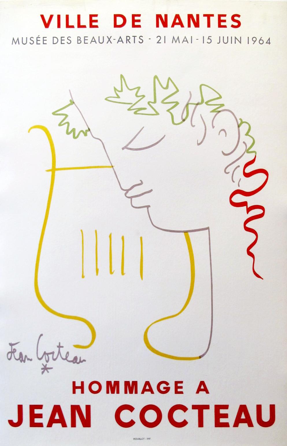 AP058 - Hommage a Coc... by  Jean Cocteau - Masterpiece Online