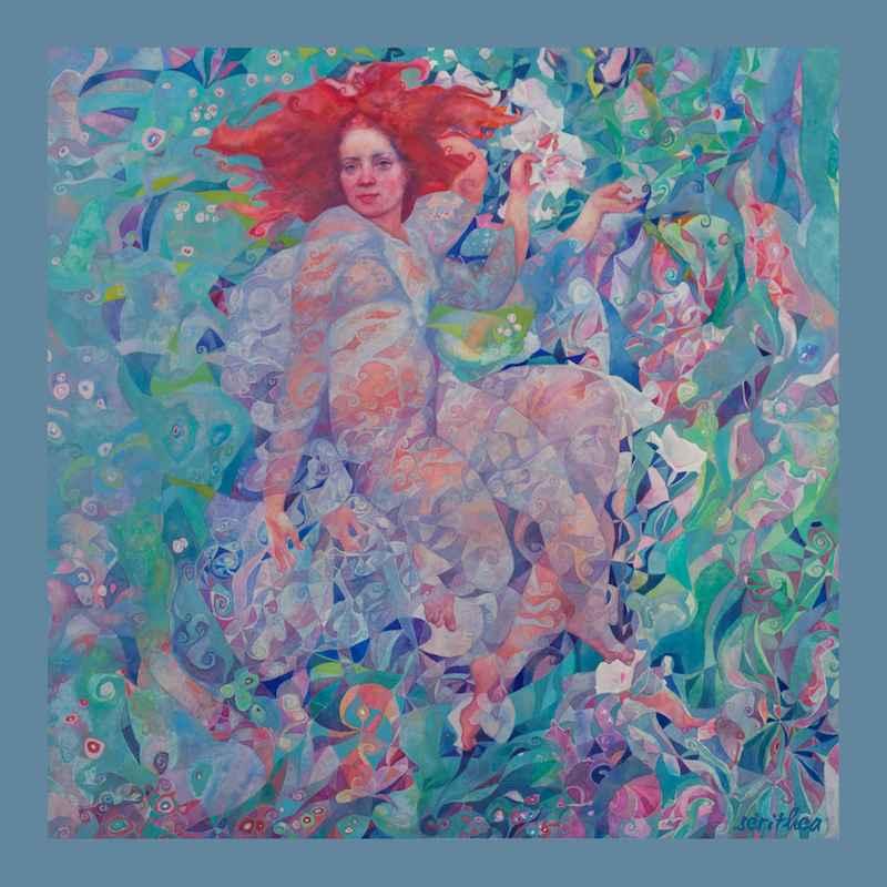 Mermaid Large Wrap by  Daud Akhriev - Masterpiece Online