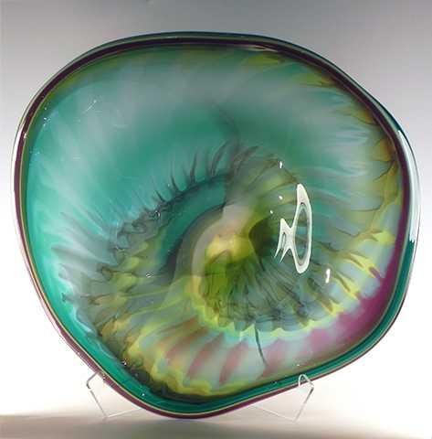 Freeform Bowl/Nina's ... by  Nina Paladino Caron - Masterpiece Online