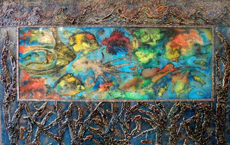 Beneath The Waves by  Karyl Bennett - Masterpiece Online