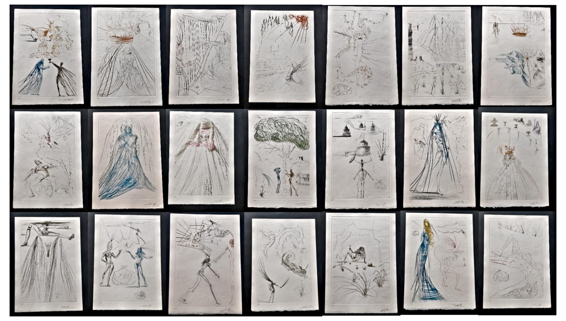 Tristan et Iseult Sui... by  Salvador Dali - Masterpiece Online
