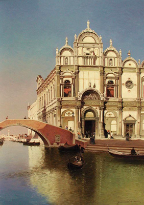 San Marco Venice by  Vasily Gribennikov - Masterpiece Online