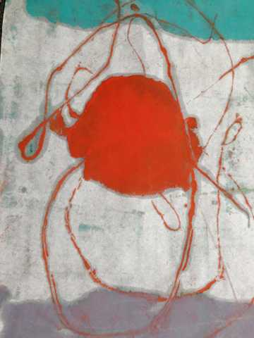Jellyfish in Red by  Tracy Kay Felix - Masterpiece Online